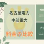 名古屋電力の料金プラン